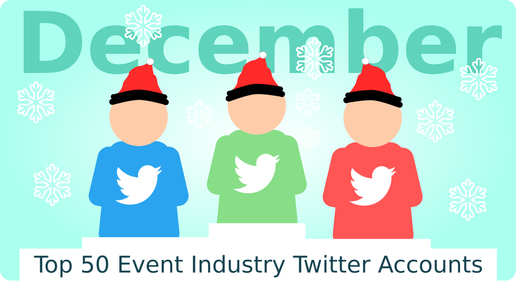"""Image from the post """"Top 50 Event Industry Twitter Accounts – December Edition"""""""