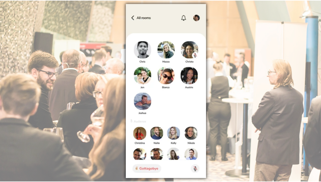 Clubhouse app for event planners