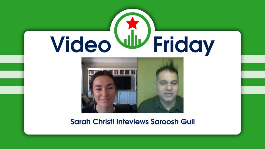 Sarah Christl of Endless Events interviews Saroosh Gull of Eventcombo